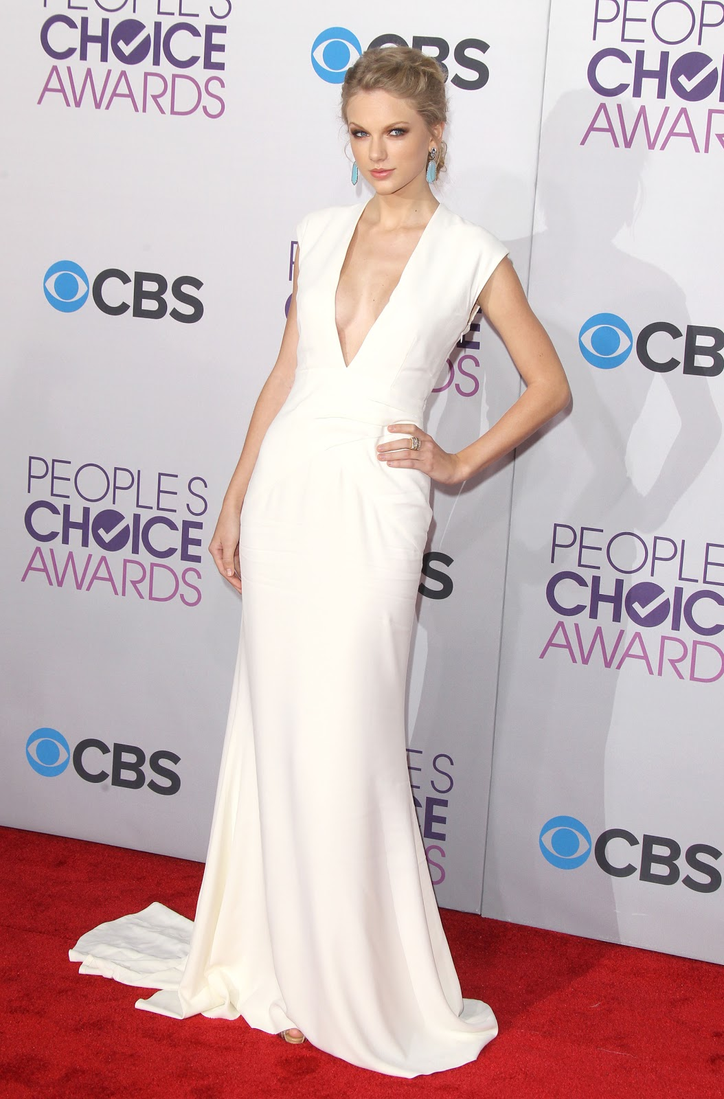 Taylor Swift White Prom Dress Peoples Choice Xdressy